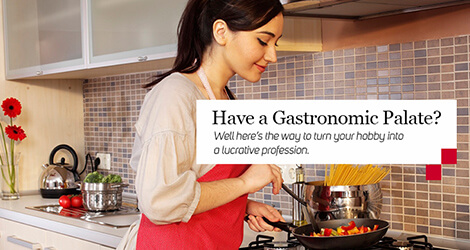 Have a Gastronomic Palate? Are you the Master Chef of your kitchen? Why not become the Master Chef of every kitchen?