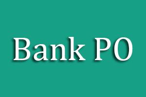 Bank PO Test Preparation